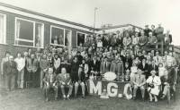 The opening of the course (18 holes) 1983